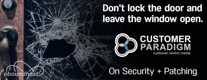 A guest post on security from Customer Paradigm