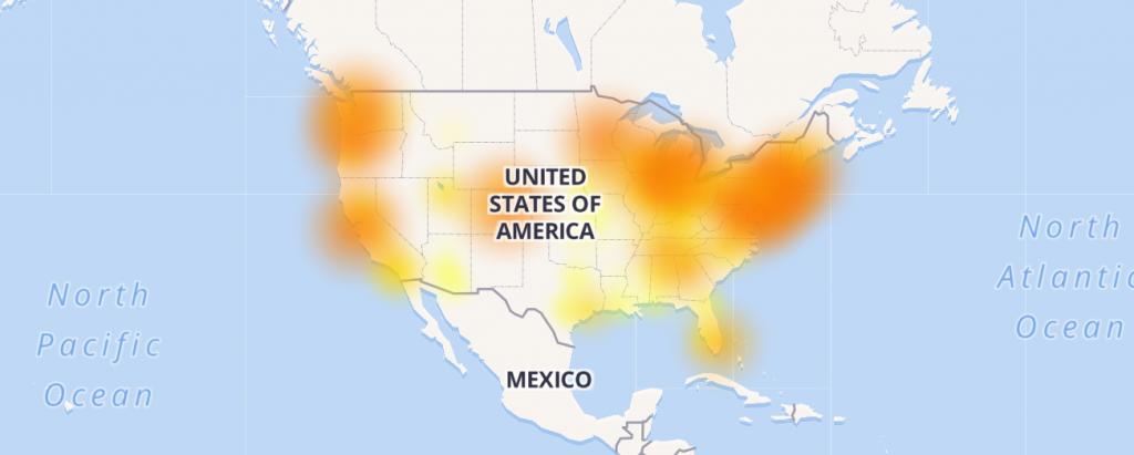 Comcast Outage, November 6th, 2017 | BLOG > eboundhost com